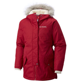 Columbia Carson Pass Mid Jacket Girls pomegranate/chalk
